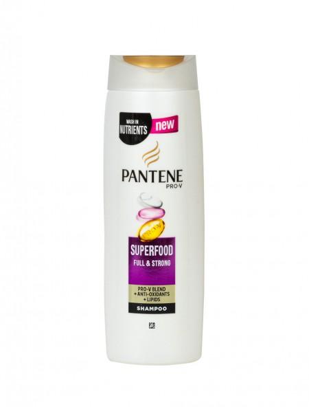 Pantene superfood σαμπουάν για δυνατά μαλλιά 360ml