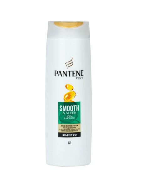 Pantene smooth & sleek σαμπουάν για μεταξένια μαλλιά 360ml