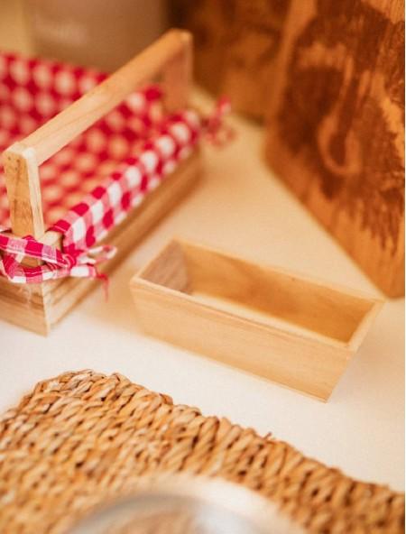 Ζαχαριέρα ξύλινη