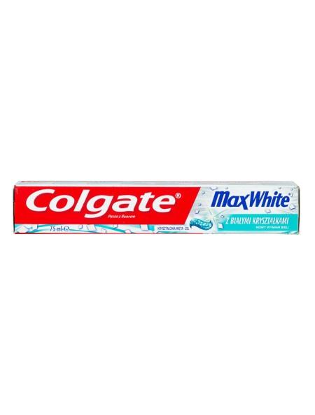 Colgate max white crystals οδοντόκρεμα 75ml