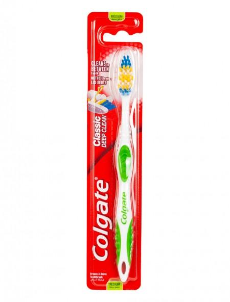 Colgate classic deep clean οδοντόβουρτσα μέτρια
