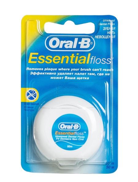 Oral B essential οδοντικό νήμα χωρίς κερί 50m