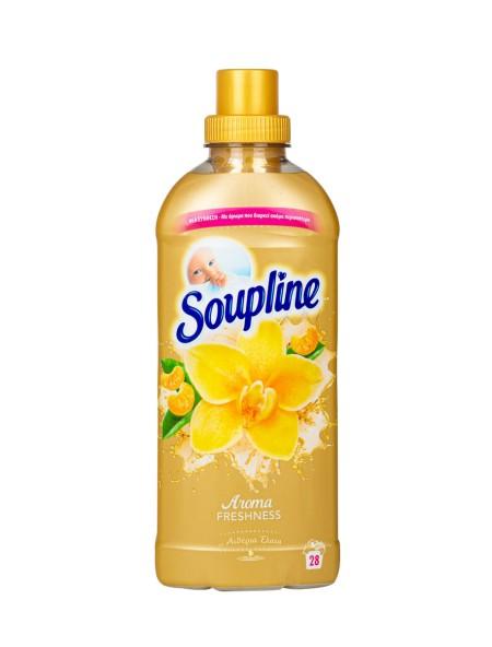 Soupline συμπυκνωμένο μαλακτικό βανίλια 28 μεζούρες 650ml