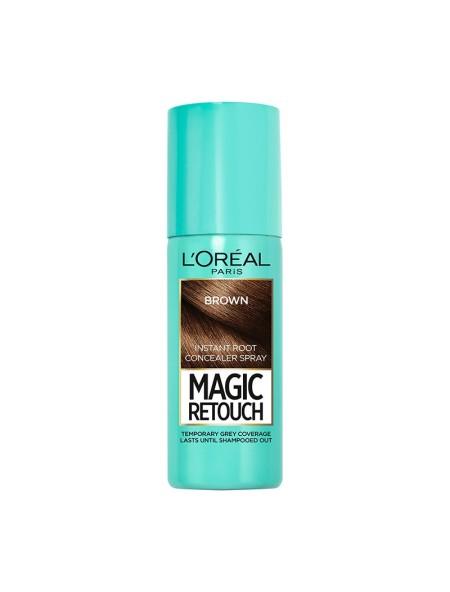 L'oreal magic retouch spray brown βαφή μαλλιών 75ml