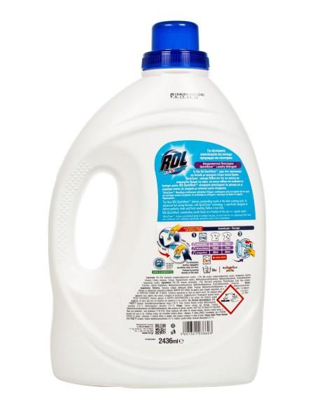 Rol quickwash υγρο πλυντηρίου ρούχων 2.436L 42 μεζούρες