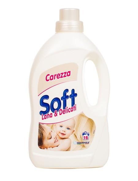 Soft bucato carezza υγρό πλύσης 1L