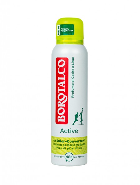 Borotalco spray active giallo αποσμητικό 150ml