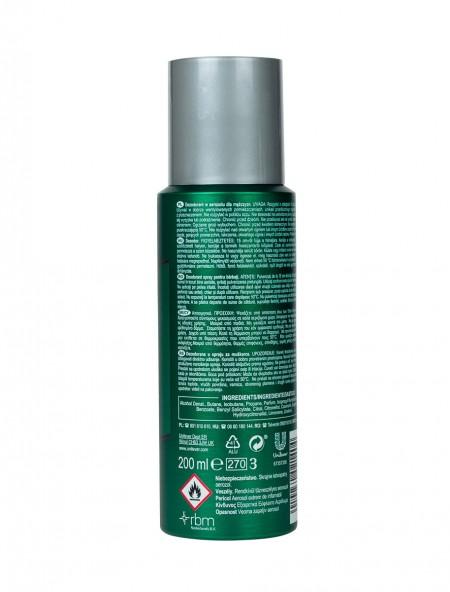 Brut spray original σώματος αποσμητικό 200ml