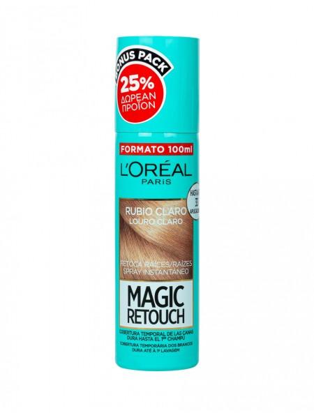 L'oreal magic retouch spray ανοιχτό ξανθό βαφή μαλλιών 100ml