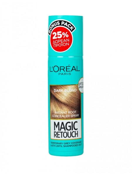 L'oreal magic retouch spray σκούρο ξανθό βαφή μαλλιών 100ml
