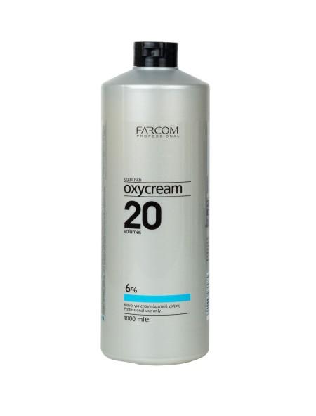 Farcom oxycream 20 vol 6% 1L