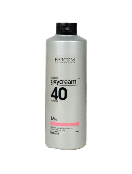 Farcom oxycream 40 vol 12% 500ml