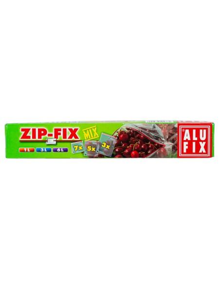 Alu Fix mix zip σακούλες τροφίμων 1L/3L/6L