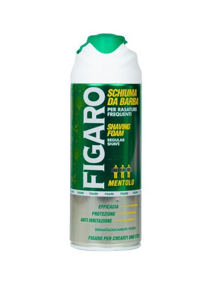 Figaro menthol αφρός ξυρίσματος 400ml