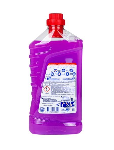 Ajax ultra  καθαριστικό γενικής χρήσης λεβάντα 1L