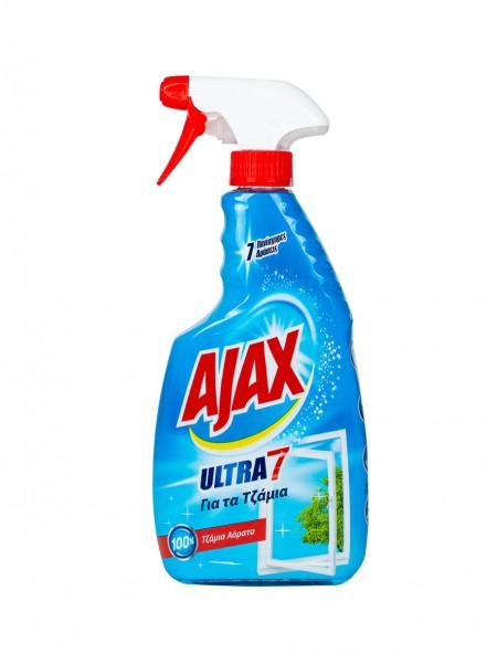 Ajax ultra 7 υγρό τζαμιών 600ml