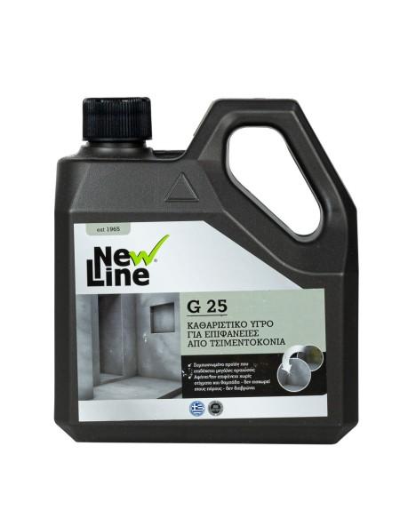 New line υγρό καθαρισμού για τσιμεντοκονία G25 1L