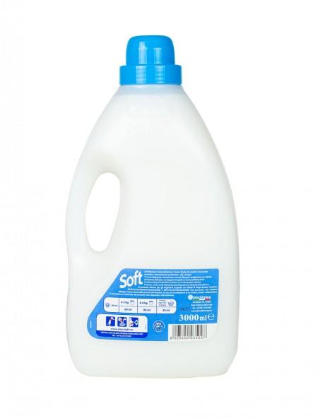 Soft μαλακτικό classic blue 3L