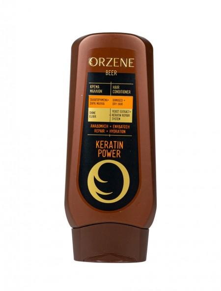 Orzene keratin power conditioner για ξηρά μαλλιά 250ml