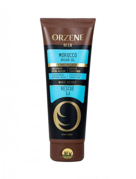 Orzene morroco argan oil supreme conditioner 7 σε 1 για ξηρά μαλλιά 250ml