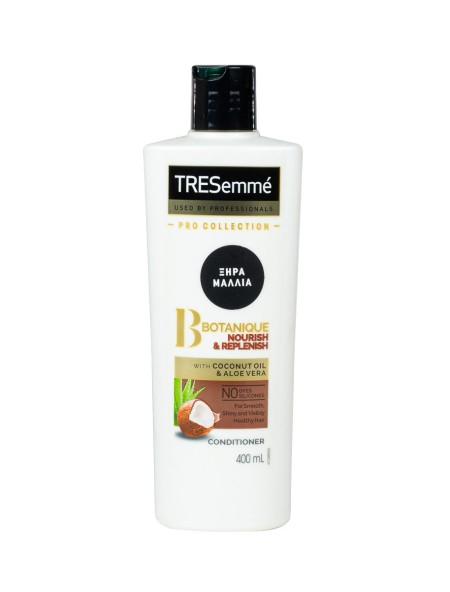 Tresemme botanic conditioner για ξηρά μαλλιά 400ml