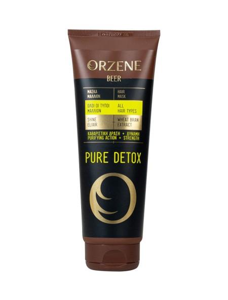 Orzene pure dettox μάσκα μαλλιών 250ml