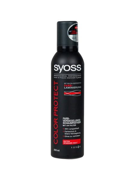 Syoss color protection αφρός μαλλιών 250ml