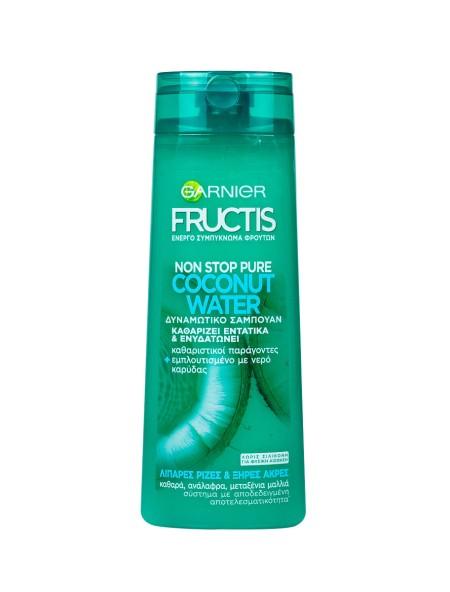 Garnier Fructis coconut water σαμπουάν 400ml