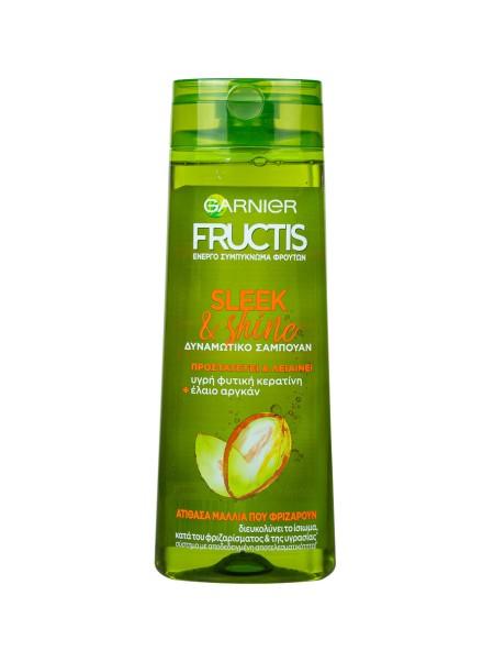 Garnier Fructis sleek & shine σαμπουάν ενδυνάμωσης 400ml
