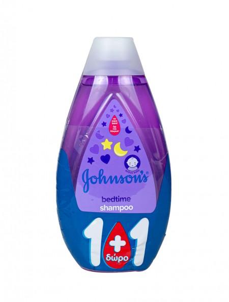 Johnson's bedtime σαμπουάν 500ml (1+1)