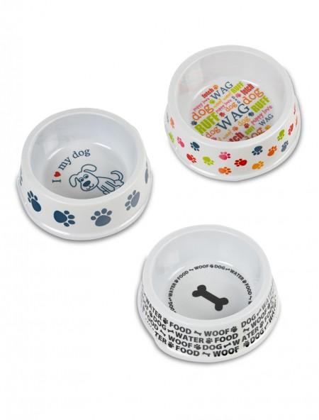 Πιάτο πλαστικό κατοικίδιων με πατουσάκια