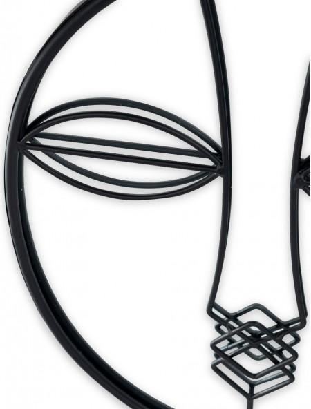 Καθρέφτης με σχέδιο πρόσωπο οβάλ