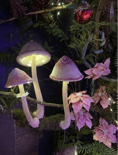 Διακοσμητικό μανιτάρι με LED