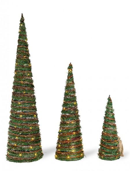 Χριστουγεννιάτικο δέντρο με LED