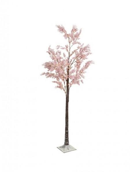 Διακοσμητικό δέντρο ροζ λουλούδι με LED