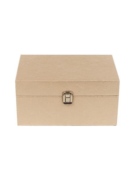 Διακοσμητικά κουτιά δερμάτινα σετ 3 τεμάχια