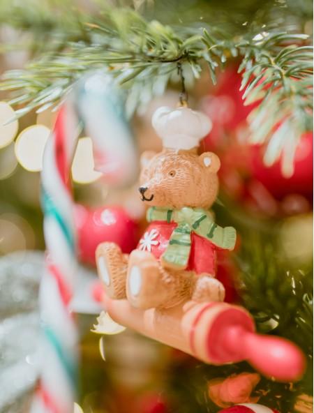Χριστουγεννιάτικο κρεμαστό στολίδι αναδευτήρας