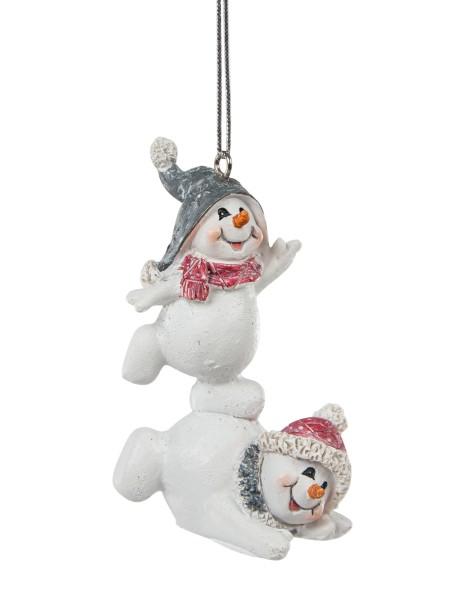 Χριστουγεννιάτικο στολίδι χιονάνθρωποι