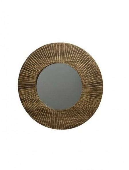 Καθρέφτης με ξύλινη κορνίζα
