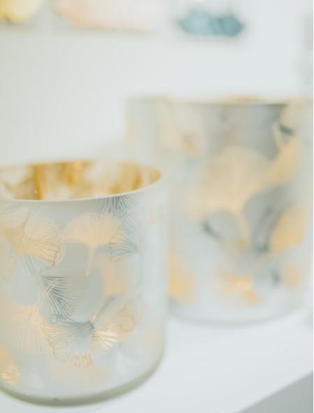 Ρεσό με χρυσά φύλλα