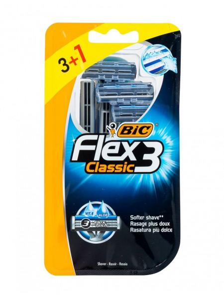Bic classic flex με 3 λεπίδες ξυραφάκια 3+1 τεμάχια