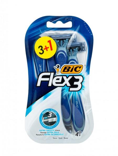 Bic nanotec flex με 3 λεπίδες ξυραφάκια 3+1 τεμάχια