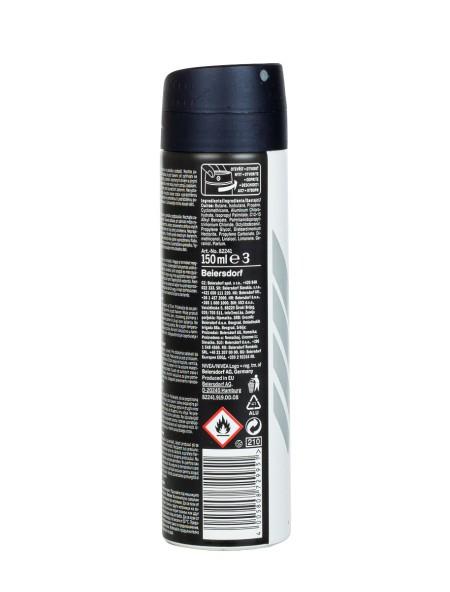 Nivea spray men black and white invisible original αποσμητικό 150ml