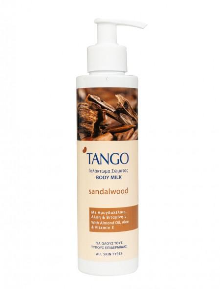 Tango γαλάκτωμα σώματος με αμυγδαλέλαιο 250ml