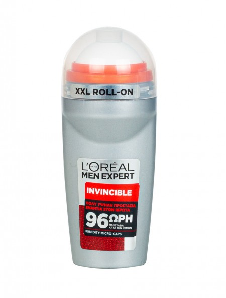 L'oreal roll on invincible αποσμητικό 50ml