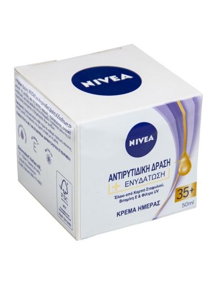 Nivea αντιρυτιδική κρέμα ημέρας 35+ 50ml