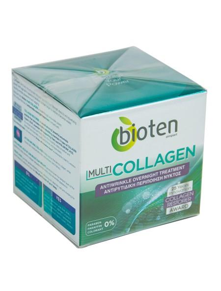 Bioten multi collagen κρέμα νυχτός 50ml