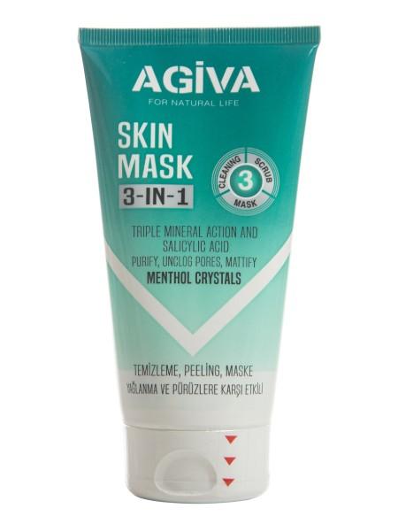 Agiva 3 in 1 μάσκα προσώπου 150ml