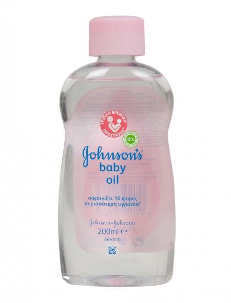Johnson's baby oil original 200ml