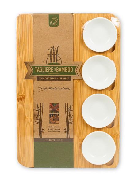 Δίσκος σερβιρίσματος από bamboo